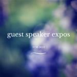 Guest Speaker Expos
